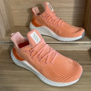 Adidas Alphaboost Coral Running Shoes